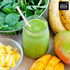 I love me a green smoothie.