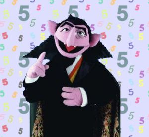 count 5